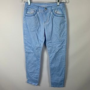 NWT Soft Surroundings XS Blue Ankle Jeans